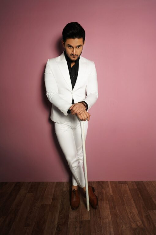 Sxeriff | Top Sustainable fashion Brand in IndiaSAME AS RED SHIRT WITH WHITE SUIT scaled
