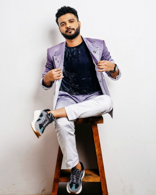 Sxeriff   Top Sustainable fashion Brand in Indiadaddy fit CUTDANA DB Blazer 17999 velvet t shirt 6999 ombre old school work pants 4999 FULL SET 29999 scaled