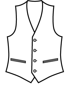 Sxeriff   Top Sustainable fashion Brand in Indiawaistcoat clipart removebg preview