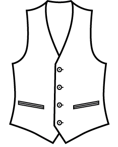Sxeriff | Top Sustainable fashion Brand in Indiawaistcoat clipart removebg preview