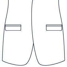Sxeriff | Top Sustainable fashion Brand in IndiaJacket JacketPocket NormalStraightWithFlap