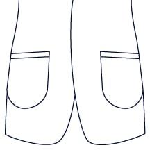 Sxeriff | Top Sustainable fashion Brand in IndiaJacket JacketPocket Patch