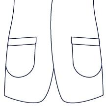 Sxeriff | Top Sustainable fashion Brand in IndiaJacket JacketPocket PatchWithFlap