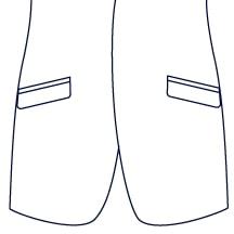 Sxeriff | Top Sustainable fashion Brand in IndiaJacket JacketPocket Slanted