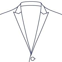 Sxeriff | Top Sustainable fashion Brand in IndiaJacket LapelStyle SlimPeakLapel 1