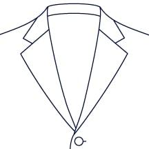Sxeriff | Top Sustainable fashion Brand in IndiaJacket LapelStyle WideNotchLapel 1
