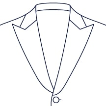 Sxeriff | Top Sustainable fashion Brand in IndiaJacket LapelStyle WidePeakLapel 1