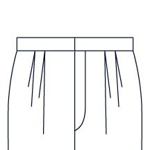Sxeriff   Top Sustainable fashion Brand in IndiaPants PleatType Two