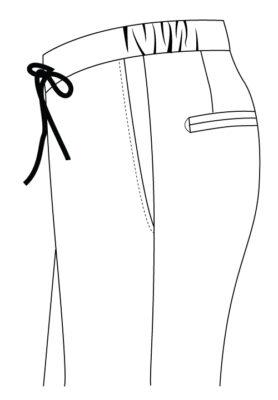 Sxeriff   Top Sustainable fashion Brand in IndiaPants WaistType DrawString