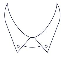 Sxeriff   Top Sustainable fashion Brand in IndiaShirt CollarStyle ButtonDownCollar