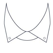 Sxeriff   Top Sustainable fashion Brand in IndiaShirt CollarStyle HiddenButtonDown