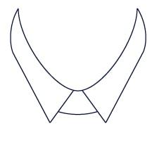 Sxeriff   Top Sustainable fashion Brand in IndiaShirt CollarStyle MiddlePoint