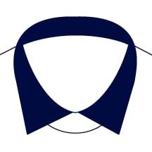 Sxeriff   Top Sustainable fashion Brand in IndiaShirt FullCollarContrast Navy