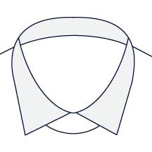 Sxeriff   Top Sustainable fashion Brand in IndiaShirt FullCollarContrast White