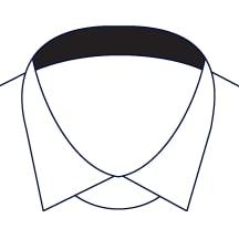 Sxeriff   Top Sustainable fashion Brand in IndiaShirt InnerCollarContrast Black