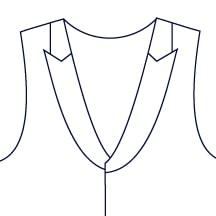Sxeriff | Top Sustainable fashion Brand in IndiaVest LapelStyle Peak